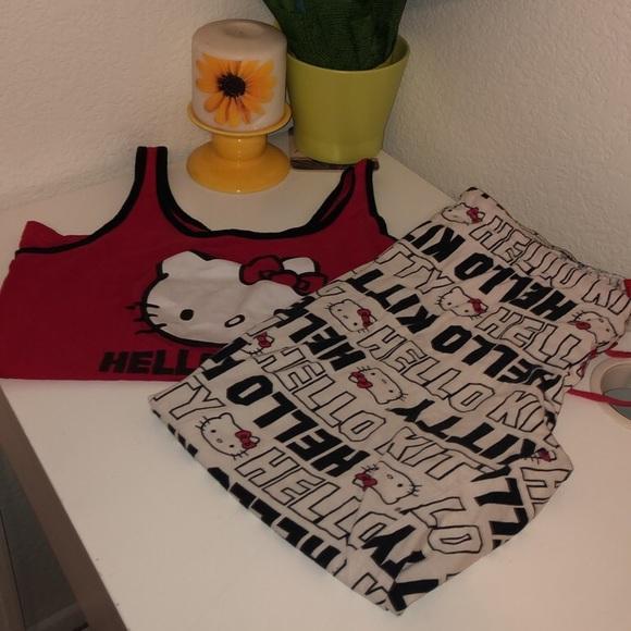 Hello Kitty Other - Hello Kitty Pajamas